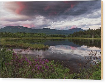 Wood Print featuring the photograph Spring In The North Woods by Patrick Downey