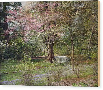 Wood Print featuring the photograph Spring by John Rivera