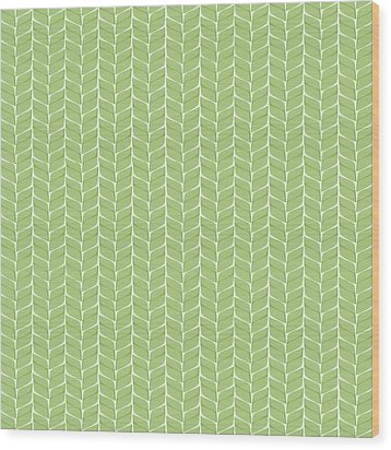 Wood Print featuring the digital art Spring Leaf by Linde Townsend