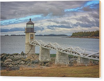 Wood Print featuring the photograph Spring Morning At Marshall Point by Rick Berk