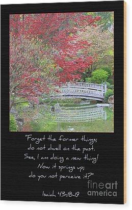 Spring Revival Wood Print by Carol Groenen