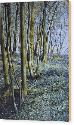 Wood Print featuring the painting Spring by Rosemary Colyer