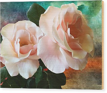 Wood Print featuring the photograph Spring Roses by Gabriella Weninger - David