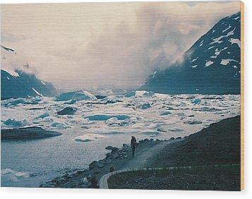 Wood Print featuring the photograph Spring Storm Arrival by Judyann Matthews