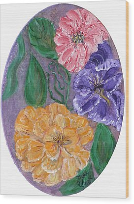 Spring Time Wood Print by Mikki Alhart