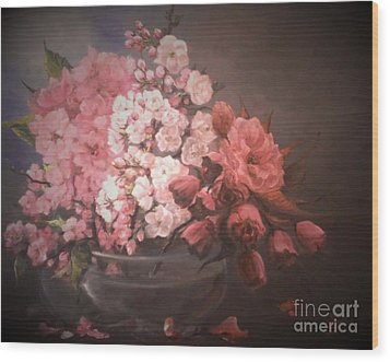 Spring Time Wood Print by Sorin Apostolescu