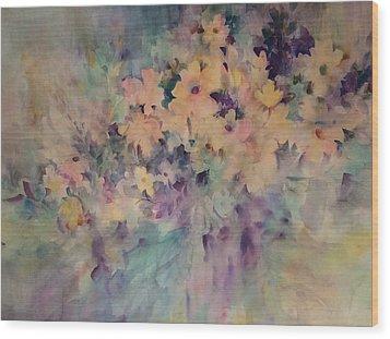 Springtime Bouquet Wood Print
