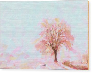 Springtime Wood Print by Chris Armytage
