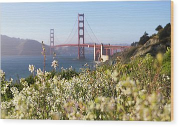 Wood Print featuring the photograph Springtime On The Bay by Everet Regal