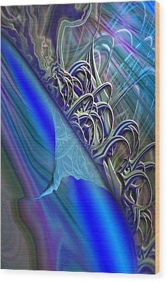 Sprinters Awl Wood Print