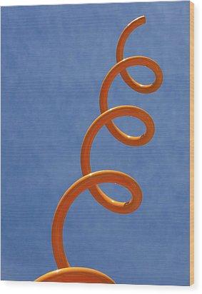 Sprung Wood Print