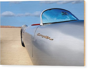 Spyder Wood Print by Peter Tellone