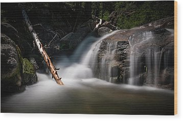 Wood Print featuring the photograph Squaw Creek by Sean Foster