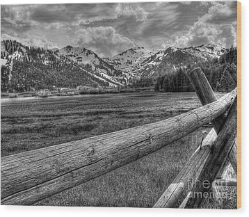 Squaw Valley Usa Olympic Valley California Wood Print