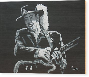 SRV Wood Print by Pete Maier