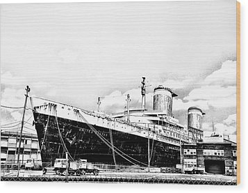 Ss United States Wood Print by Bill Cannon