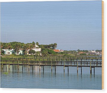 Wood Print featuring the photograph St. Augustine Morning by Gordon Beck