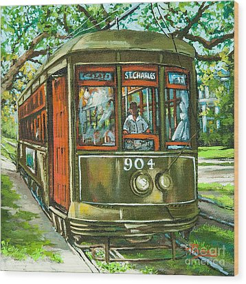 St. Charles No. 904 Wood Print by Dianne Parks