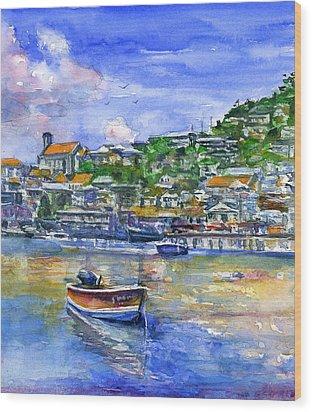 St. George Grenada Wood Print