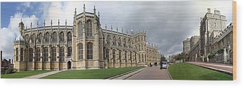 St. George's Chapel Wood Print by Gary Lobdell