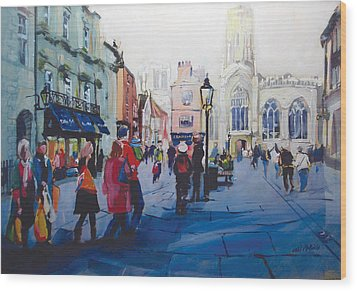 St Helen Square York Wood Print by Neil McBride