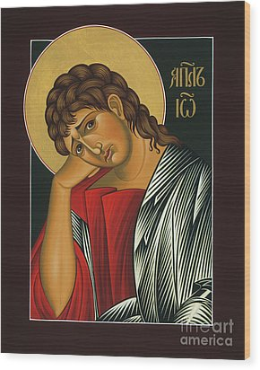 Wood Print featuring the painting St. John The Apostle 037 by William Hart McNichols