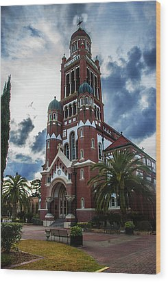 St. Johns Cathedral 1 Wood Print