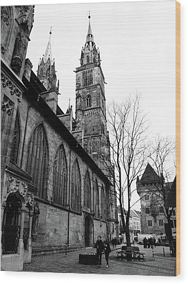 St. Lorenz Cathedral Wood Print