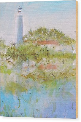 St Marks Lighthouse Wood Print