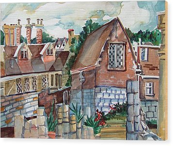 St Marys Of York England Wood Print by Mindy Newman