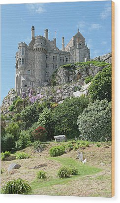 St Michael's Mount Castle II Wood Print