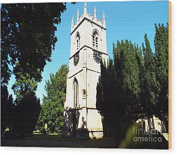 St. Michael's,rossington Wood Print