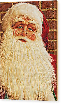 St. Nicholas Melting Canvas Photoart Wood Print
