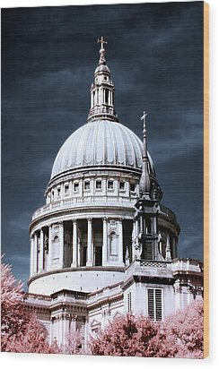 St. Paul's Cathedral's Dome, London Wood Print