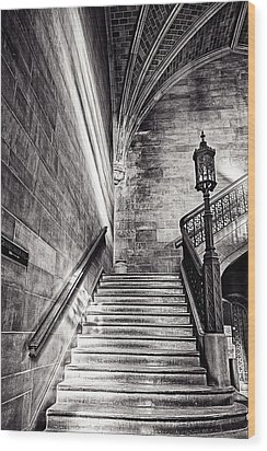Stairs Of The Past Wood Print