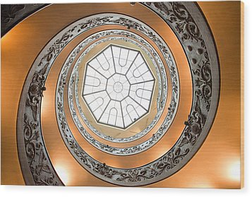 Stairs To Heaven Wood Print by Andre Goncalves