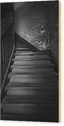 Stairway Wood Print by Ester  Rogers