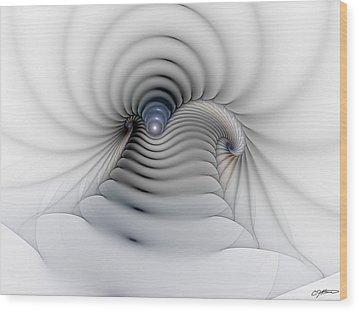 Stairway To Heaven Wood Print by Casey Kotas