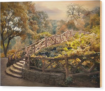 Stairway To Heaven Wood Print by Jessica Jenney