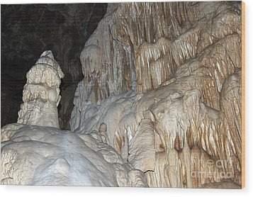 Stalactite Formations Wood Print by Michal Boubin