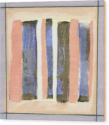 Stand Up 2 Wood Print by Jean Beal
