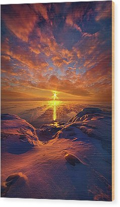 Wood Print featuring the photograph Standing Stilled by Phil Koch