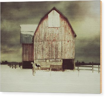 Wood Print featuring the photograph Standing Tall by Julie Hamilton