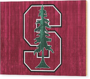 Stanford Barn Door Wood Print