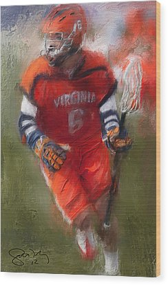 Stanwick Lacrosse 3 Wood Print by Scott Melby