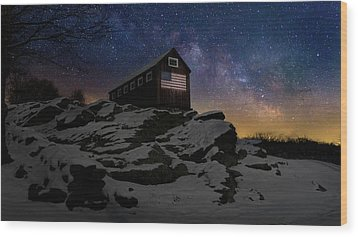 Wood Print featuring the photograph Star Spangled Banner by Bill Wakeley