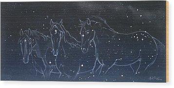 Star Spirits Wood Print