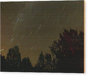 Star Tripping Wood Print by David S Reynolds