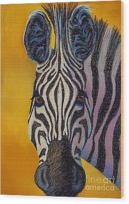 Stare Down Wood Print by Tracy L Teeter
