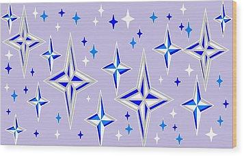 Starlight 11 Wood Print